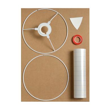 kit abat jour rond 40cm artemio. Black Bedroom Furniture Sets. Home Design Ideas