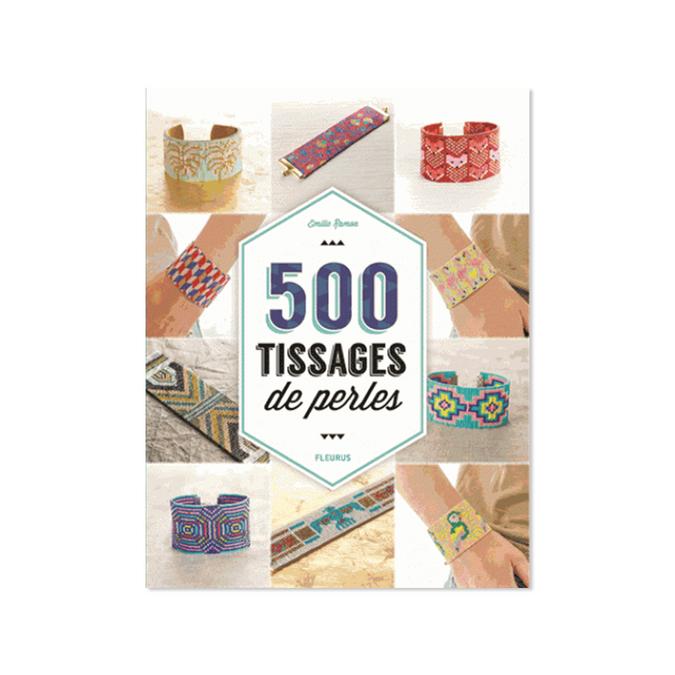 Livre 500 tissages de perles