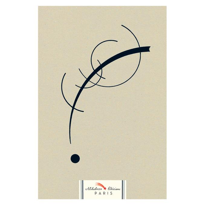 Carnet Artbook 14 x 21 cm - Courbes by W. Kandinsky