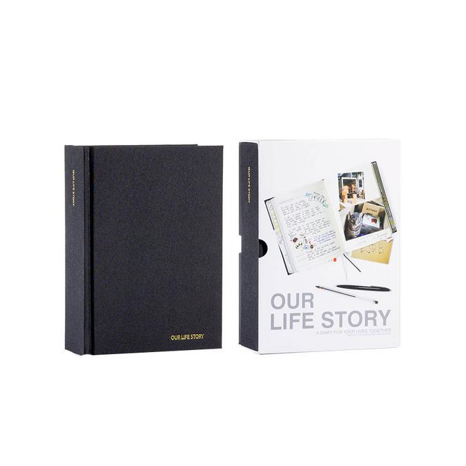 Journal de notre vie 1080 pages - 16,3 x 22,7 x 6,8 cm
