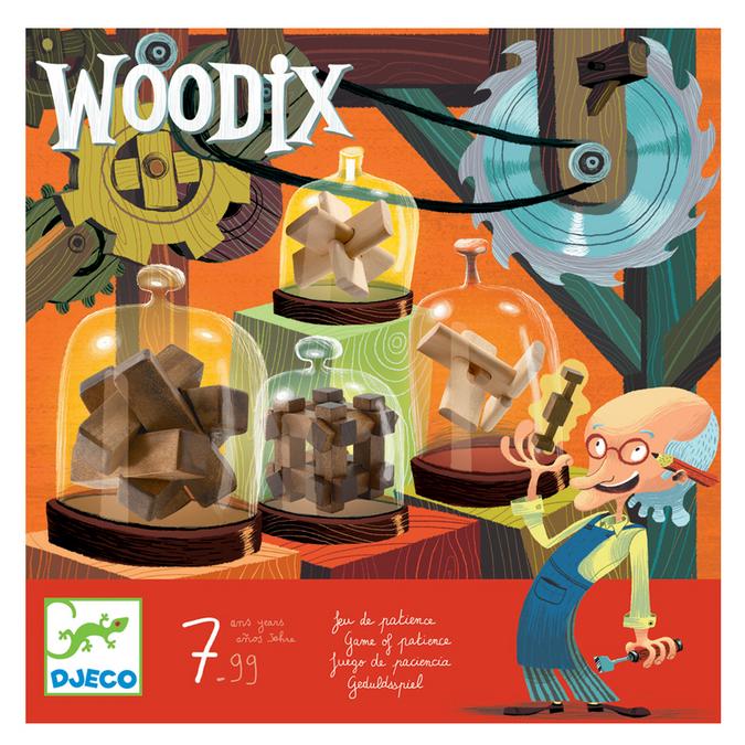 Jeu de casse-tête - Woodix
