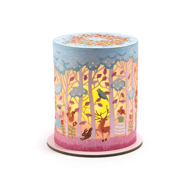 Mini veilleuse thème Forêt magique