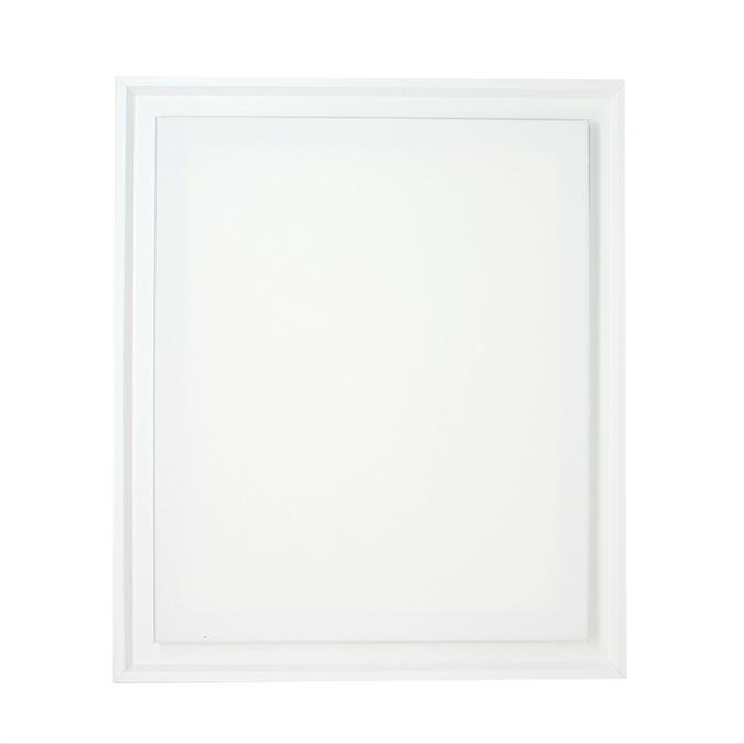 Caisse américaine blanche + toile 8F