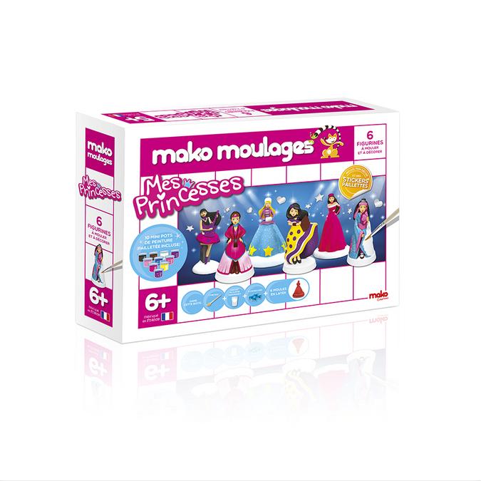 Atelier de moulage 6 moules - Mes princesses