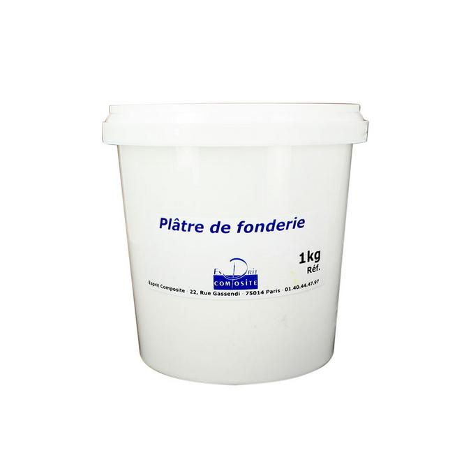 Plâtre de fonderie 1 kg