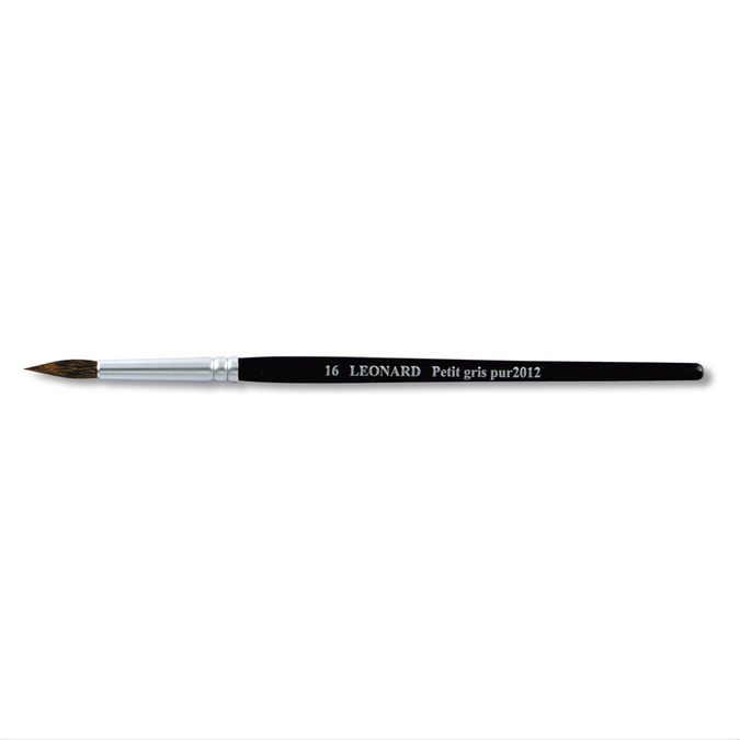 Pinceau rond en petit gris pur série 2012RO 10
