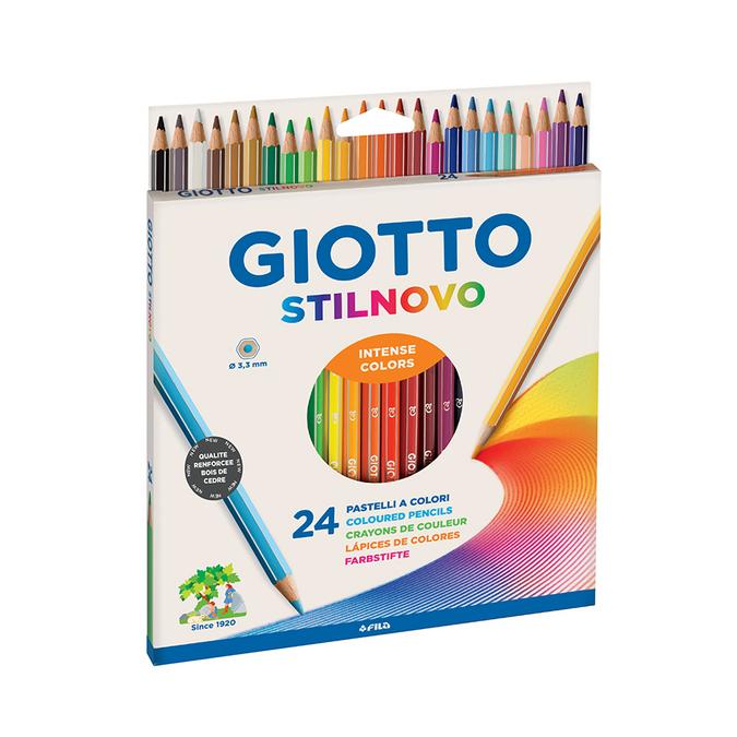 Crayon de couleur Stilnovo par 24