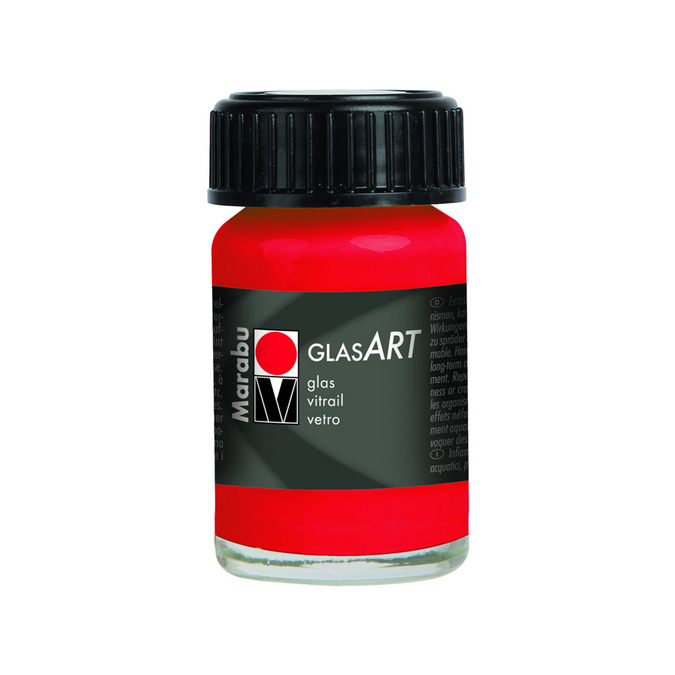 Peinture pour verre brillante GlasArt 15 ml 470 - Blanc
