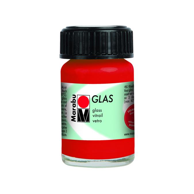 Peinture pour verre Glas 15 ml 131 - Framboise