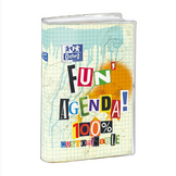 Agenda journalier 12 x 18 cm Fun'agenda customisable