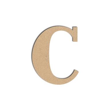 Lettre c majuscule objet en m dium 12 cm spider lily - Grosse lettre en bois a peindre ...