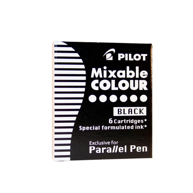 Cartouche d'encre Parallel Pen noire par 6