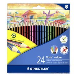 Crayon de couleur Noris Club par 24
