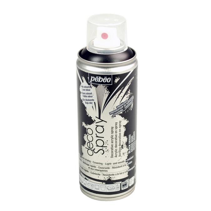 Auxiliaire decoSpray gesso noir 200 ml