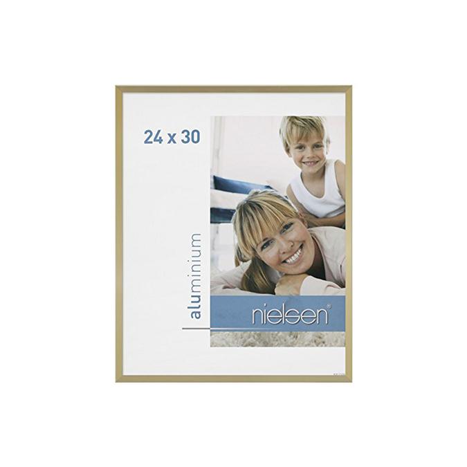 Cadre C2 Or mat brossé 24 x 30 cm