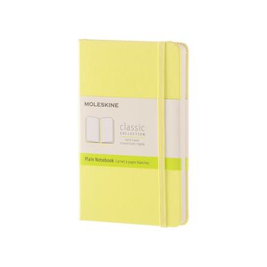 carnet de poche pages blanches citron 9 x 14 cm moleskine chez rougier pl. Black Bedroom Furniture Sets. Home Design Ideas