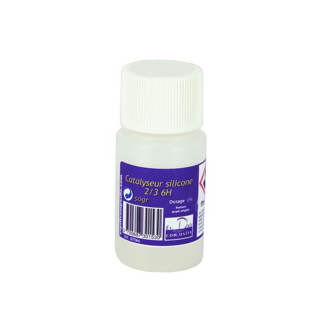 Catalyseur 6h pour silicone RTV 50 ml