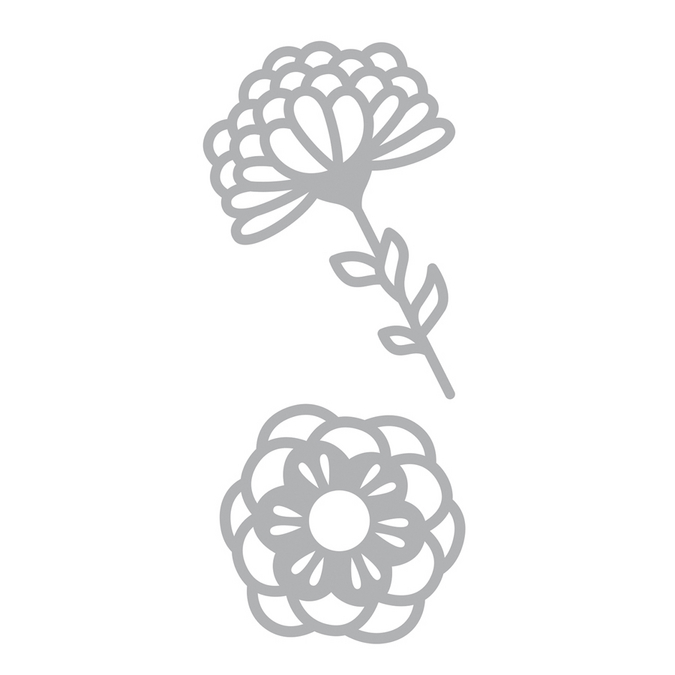 Dies fleurs 7 x 15 cm Freedom