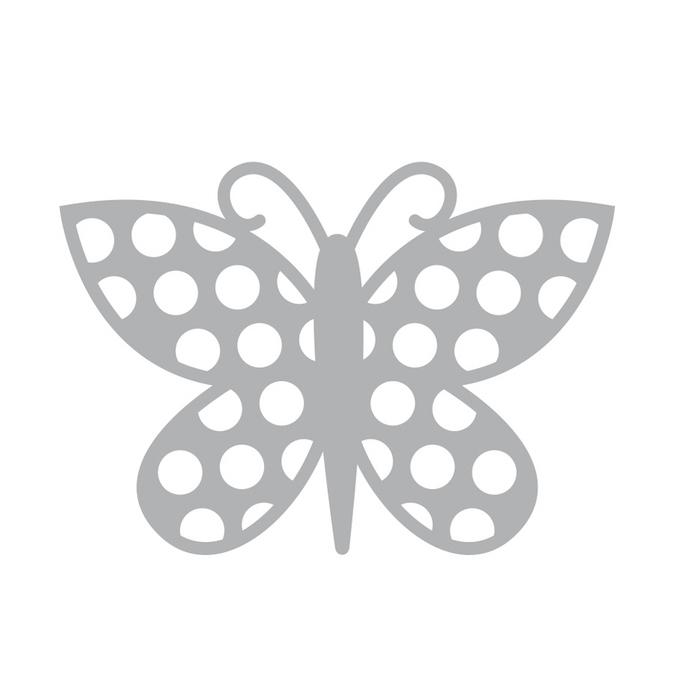 Dies papillon1 7 x 7 cm Nature