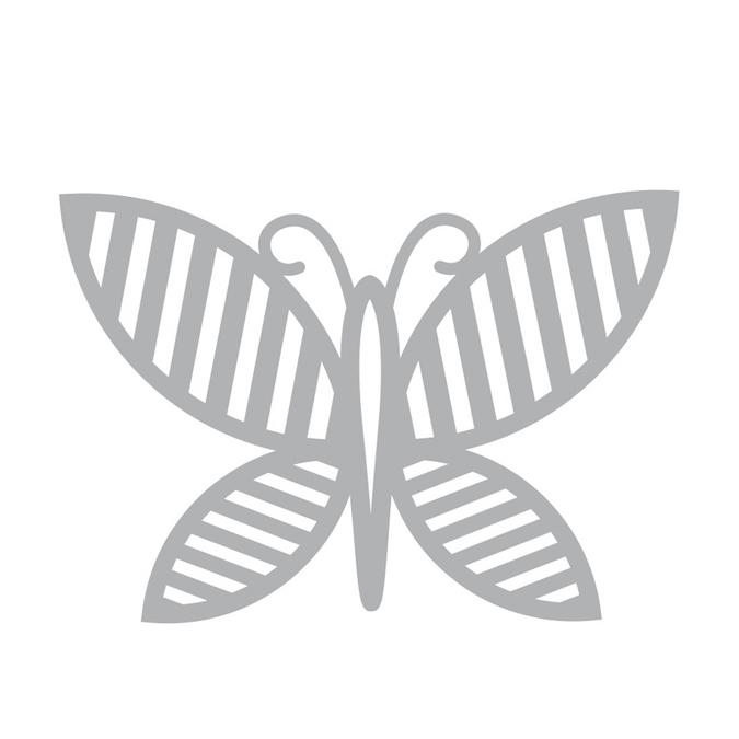 Dies papillon2 7 x 7 cm Nature