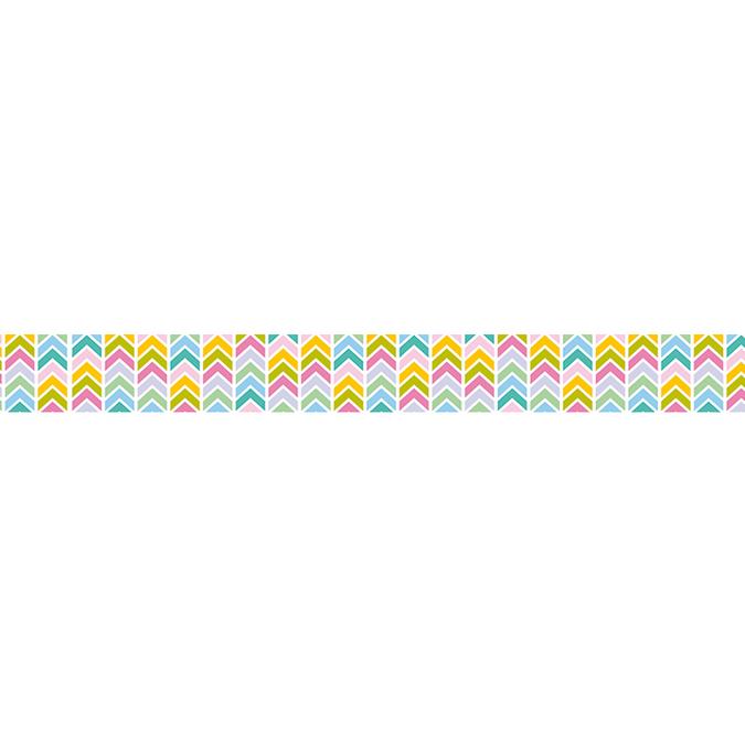 Masking Tape 10 m x 15 mm Flèches géométriques