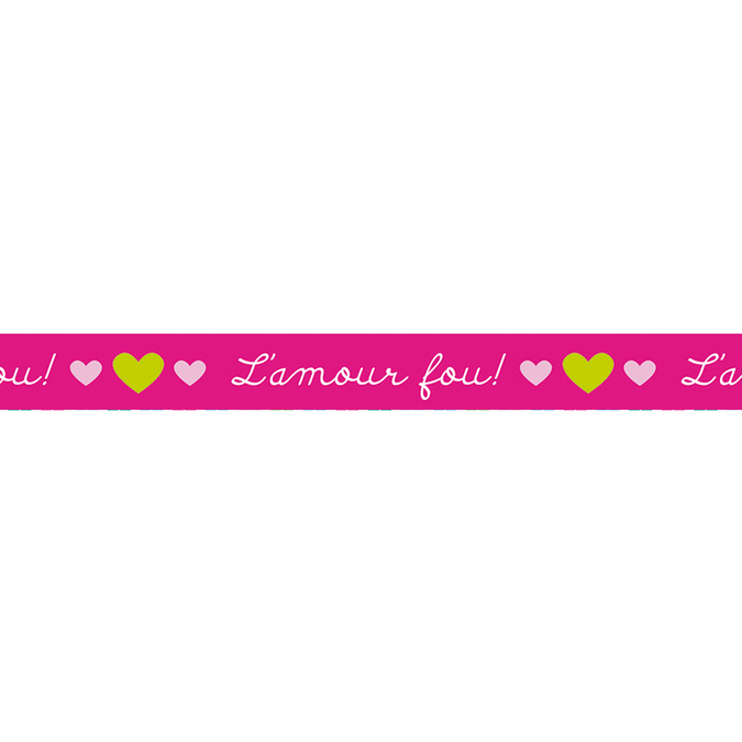 Masking Tape 10 m x 15 mm L'amour fou