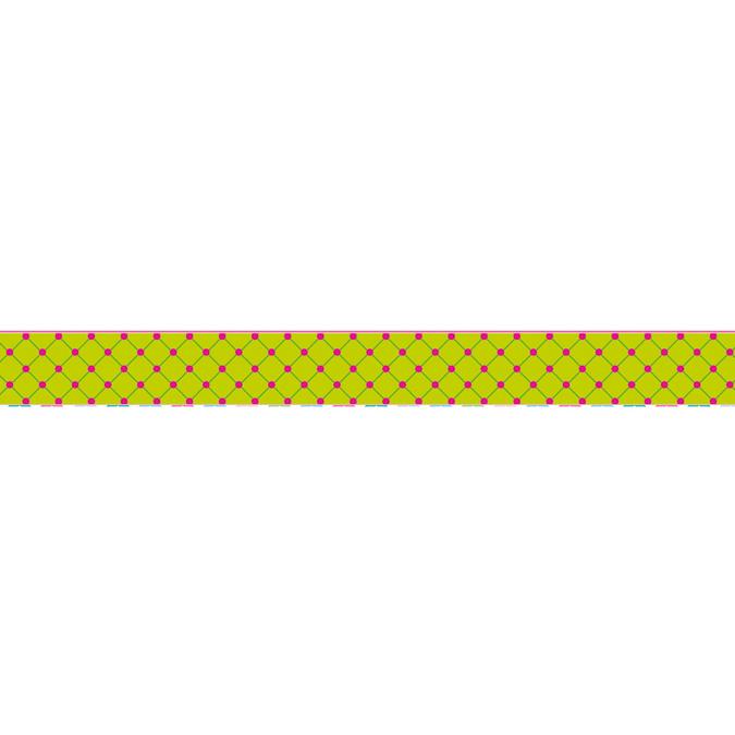 Masking Tape 10 m x 15 mm Losange