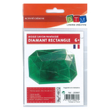 Moule pour savon diamant rectangle