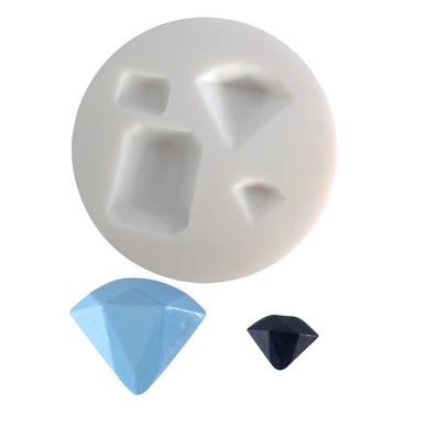 moule en silicone thme pierre prcieuse - 45 Ans De Mariage Pierre Precieuse