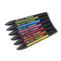 Set de 6 Promarker tons vibrants