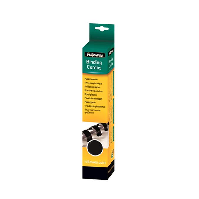 Baguette de reliure noire 10 mm - par 25