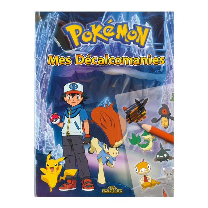 Livre Mes décalcomanies Pokémon