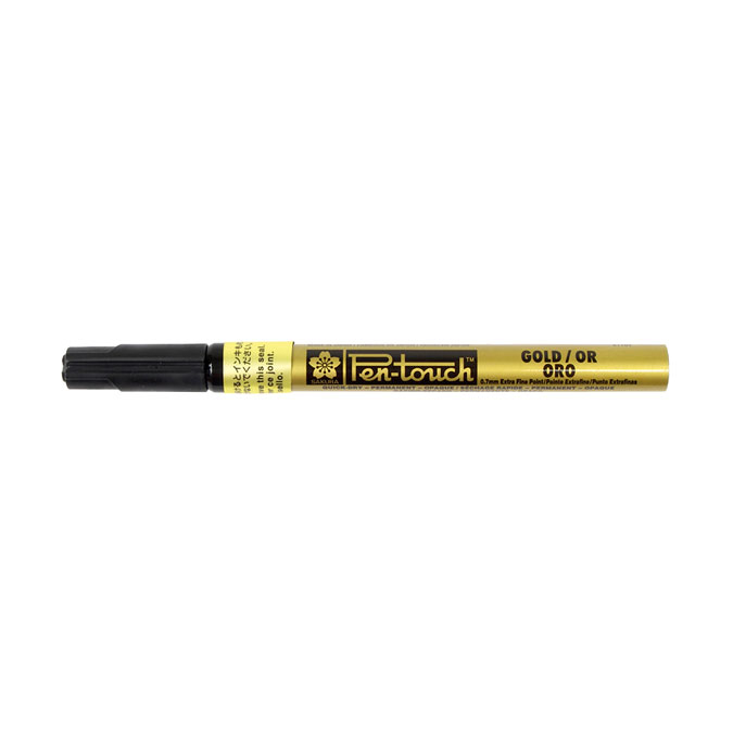 Marqueur Pen-Touch 0.7 mm or