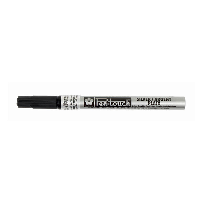 Marqueur Pen-Touch 0.7 mm argent