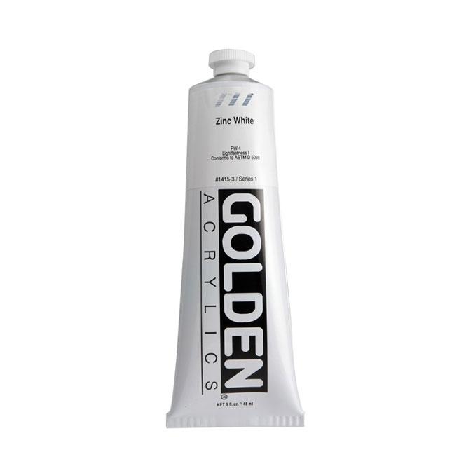 Peinture acrylique extra-fine blanc de zinc 150 ml