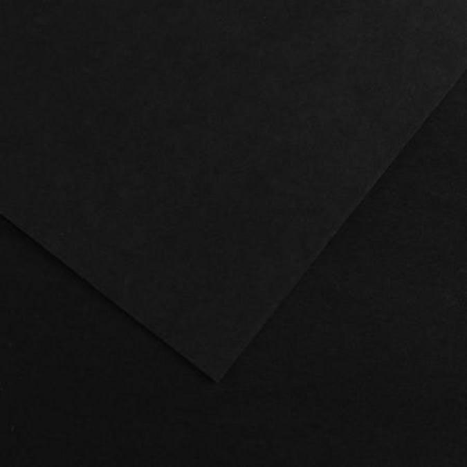 Papier Colorline noir 150g/m² grain fin 50 x 65cm