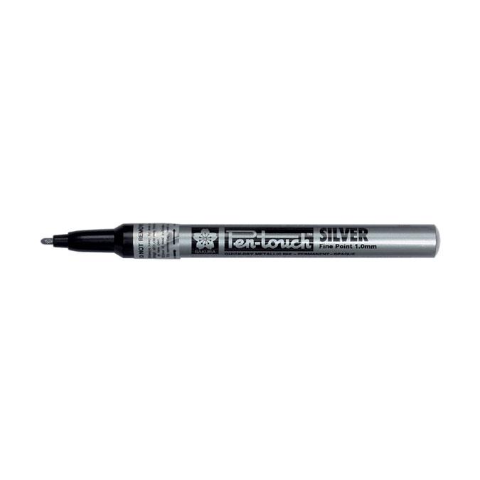 Marqueur Pen-Touch argent 1 mm