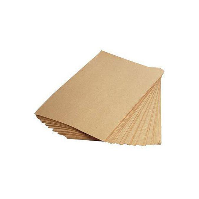 Ramette de papier kraft brun A4 - 90 g/m² - 250 feuilles