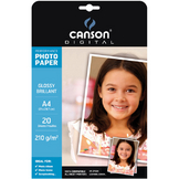Papier photo brillant Performance A4 - 210 g/m² - 20 feuilles