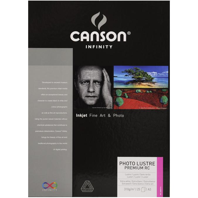 Papier photo lustré Lustre RC Premium - 310 g/m² - 25 feuilles