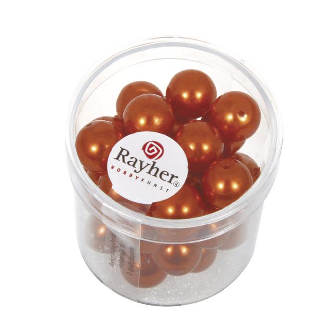 Perles en verre Renaissance 10 mm