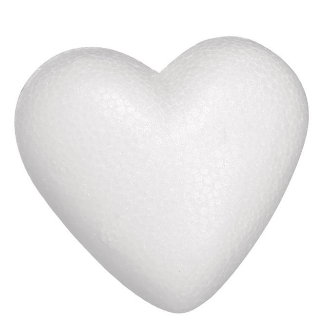 Cœur en polystyrène 5 cm