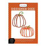 Matrice de coupe - Die Haunted - Outlined Pumpkins