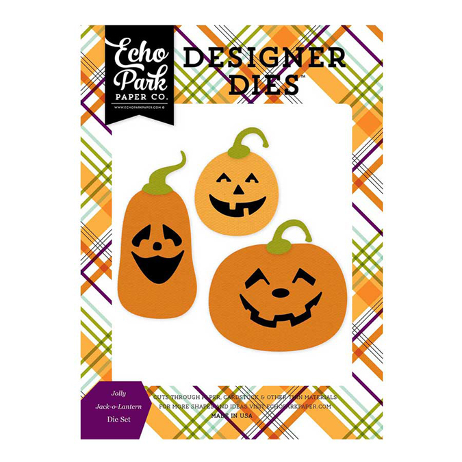 Matrice de coupe - Die Halloween - Jolly Jack O Lantern - 2,5 x 2,5 cm