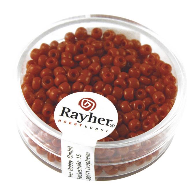 Perles de rocaille 2,6 mm opaques
