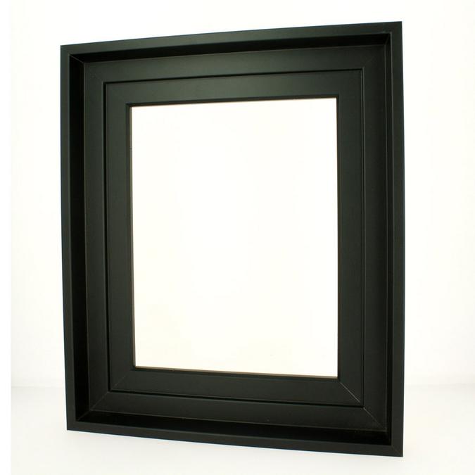 Caisse américaine noire format figure