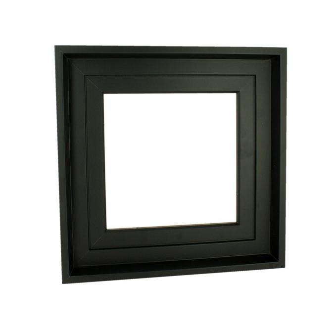 Caisse américaine noire format carré