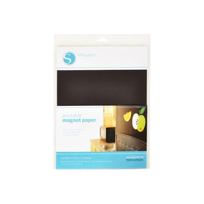 Feuille magnétique pour impression - 21 x 28 cm - par 4