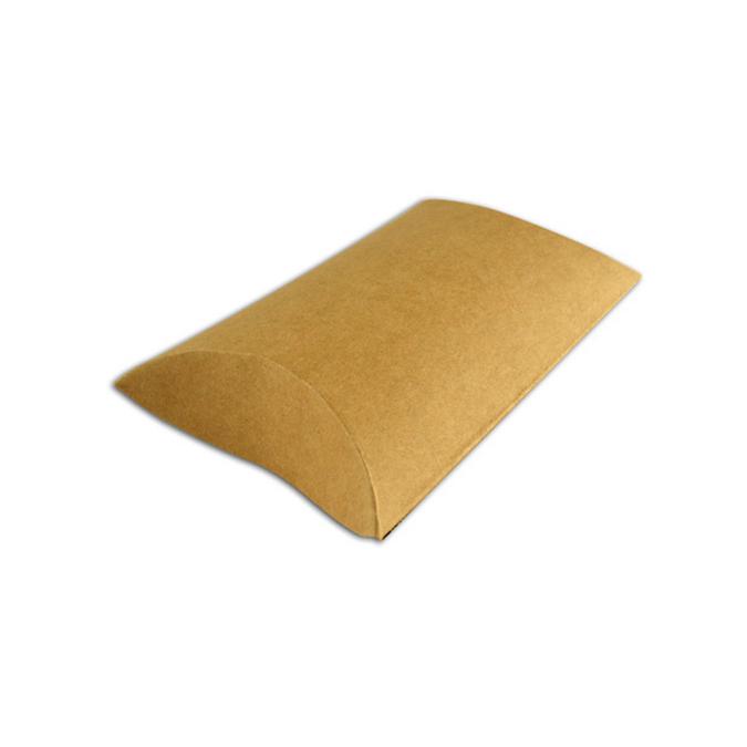 Boîtes oreiller kraft 11 x 19 cm par 6