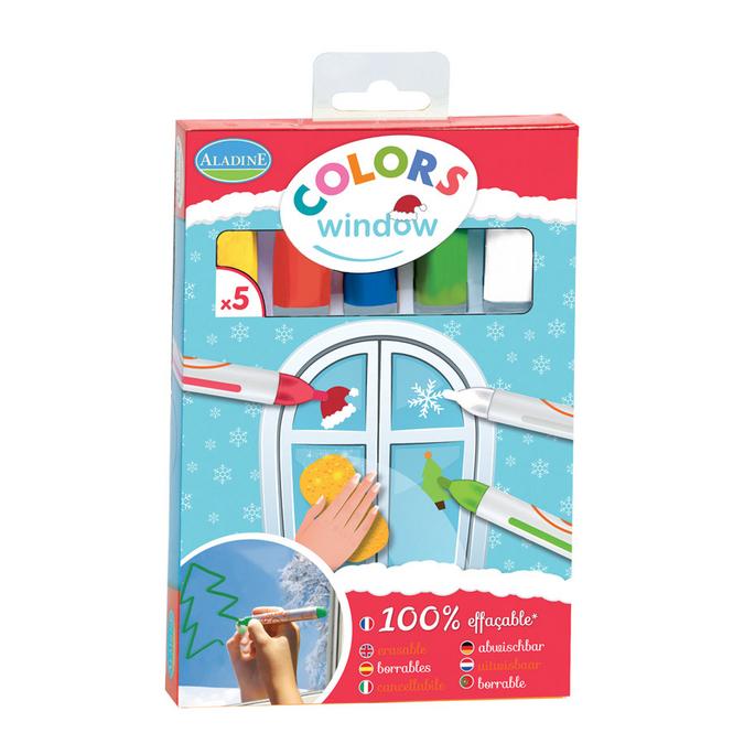 Colors Window Christmas - 5 pcs